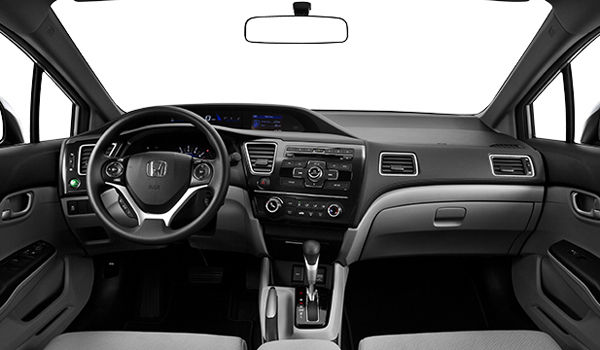 Honda Civic Lx 2013 Interior