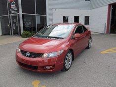 Honda Civic Cpe SI/Garantie global jusqu'a 200000km-Couleur unique 2010