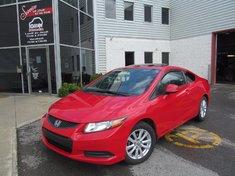 Honda Civic Cpe Ex-L-Navy-Garantie Global jusqu'Au 29/12/2018/ 2012