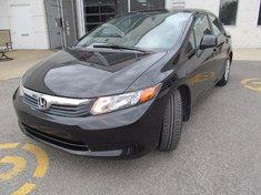 Honda Civic Sdn LX-Garantie 10 ans ou 200.000km 2012