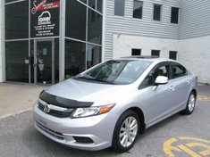 Honda Civic EX-Garantie jusqu'a 200.000km-Toit ouvrant 2012