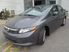 Honda Civic DX Garantie 10 ans ou 200 000KM 2012