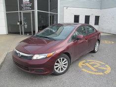 Honda Civic EX+Garantie 10 ans ou 200.000km 2012