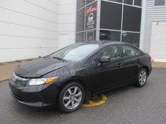 Honda Civic LX + garantie 10 ans/ 200000 km 2012