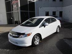 Honda Civic LX+GARANTIE 10ANS/200000KM 2012