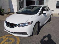 Honda Civic EX+Toit+Garantie global jusqu'Au 24/oct/2018 wow!! 2013