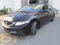 Honda Civic EX+Toit ouvrant+Push start+Garantie 10 ans 2014