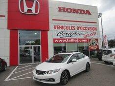 2014 Honda Civic Touring + DEMARREUR A DISTANCE