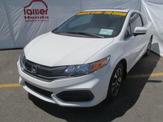Honda Civic EX COUPÉ + GARANTIE 10 ANS/200.000KM 2015