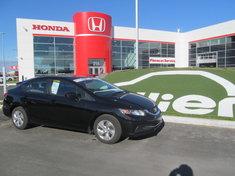 Honda Civic LX BERLINE + GARANTIE 10ANS/200.000KM 2015