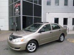 Toyota Corolla CE-Tout équipé-Toit-ouvrant 2008