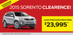The all-new 2015 Kia Sorento - Get it from only $23,995!