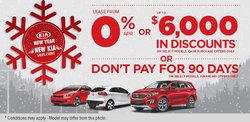 New Year, New Kia Sales Event!
