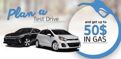 Plan a test drive