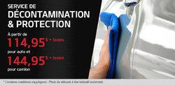 Service de décontamination et protection