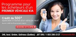 Programme d'achat d'un premier véhicule Kia